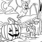 Coloring page Halloween celebrate for coloring