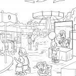 Coloring page fun fair / fair for coloring