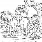 Saint Martin txantiloiak berokia partekatzen du margotzeko