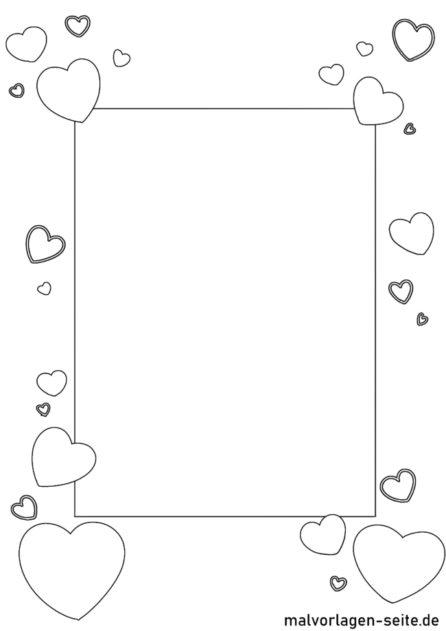 Voucher template for coloring