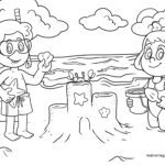 Holiday & Travel coloring pages
