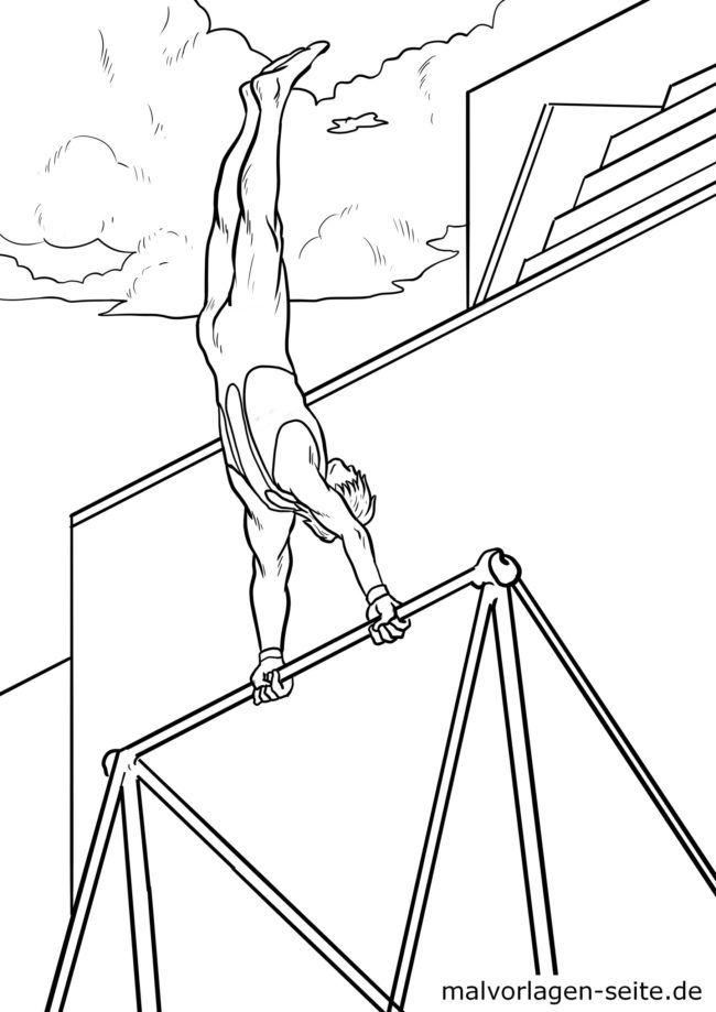 Gymnastika pejy fandokoana amin'ny bar