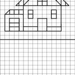Debuxar figuras - casa - aprende a debuxar