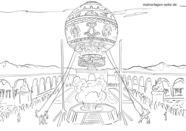 ਰੰਗੀਨ ਸਫ਼ਾ ਪਹਿਲੀ ਉਡਾਣ ਮੰਗੋਲੀਫਾਇਰ 21.11.1783 ਅਕਤੂਬਰ, XNUMX ਨੂੰ