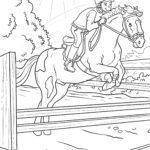 Väritys sivu ratsastus hevosurheilu urheilu