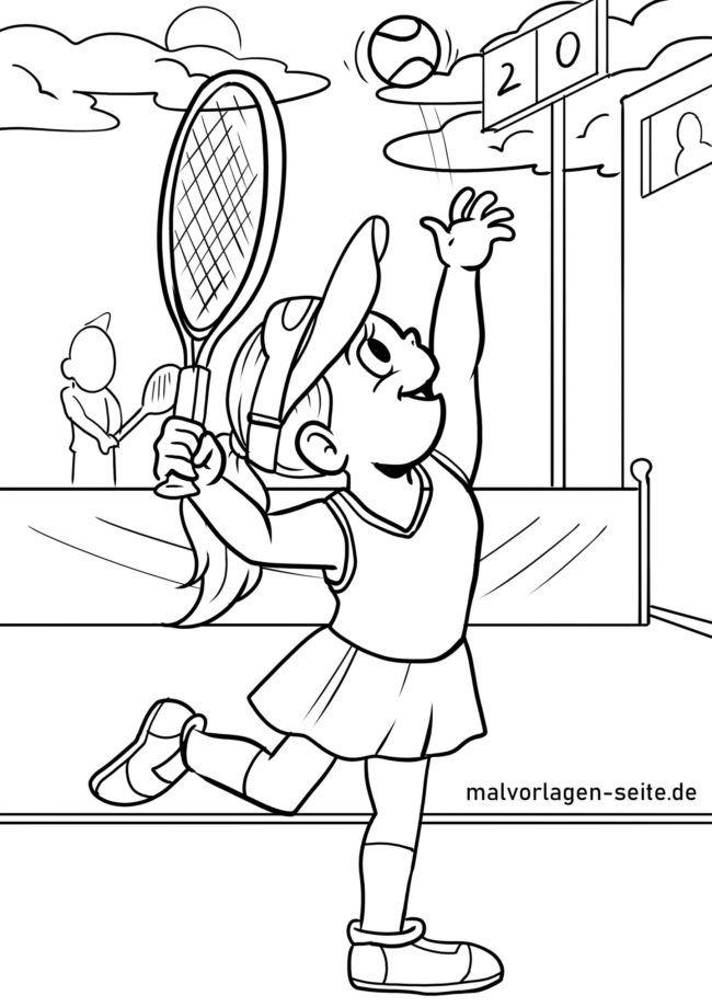 Servis tenis za barvanje