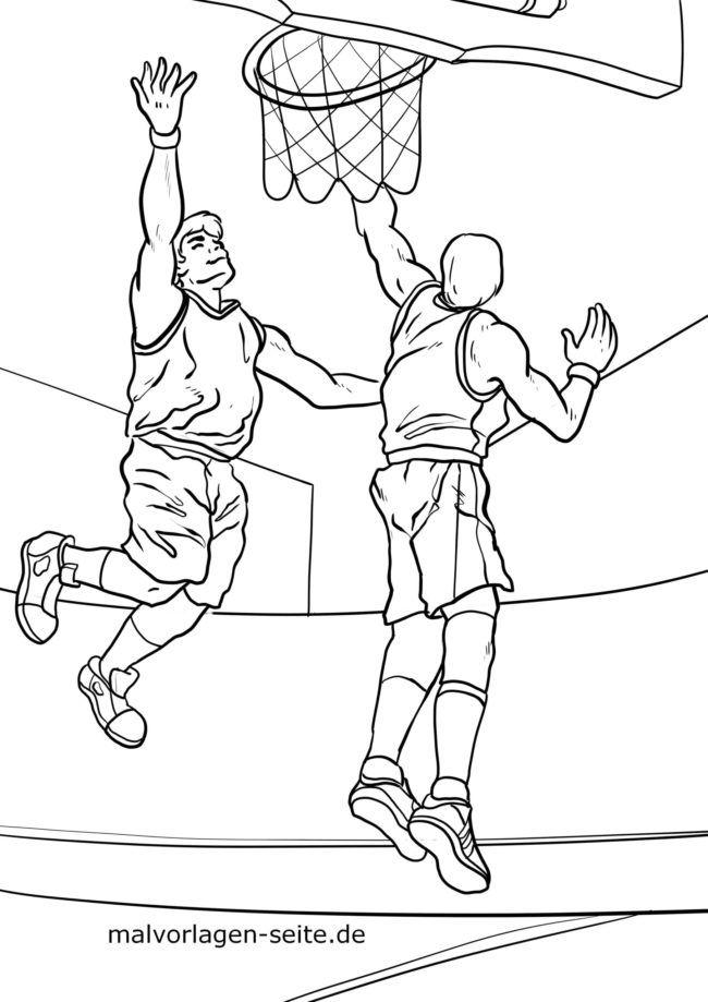 Farve side basketball
