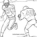 Coloriage football américain | Des sports