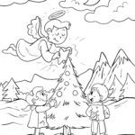 Coloring page Christ child for coloring
