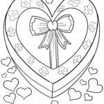 Malvorlage Geburtstag Herz zum Ausmalen
