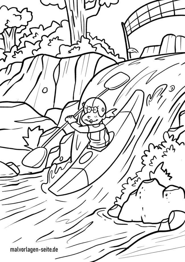 საღებარი გვერდი kayaking
