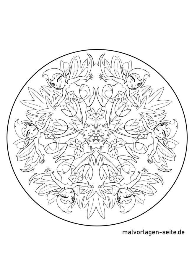 Elfen Mandala