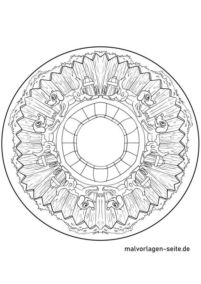Mandala hundoj