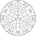 Mandala-stjerner