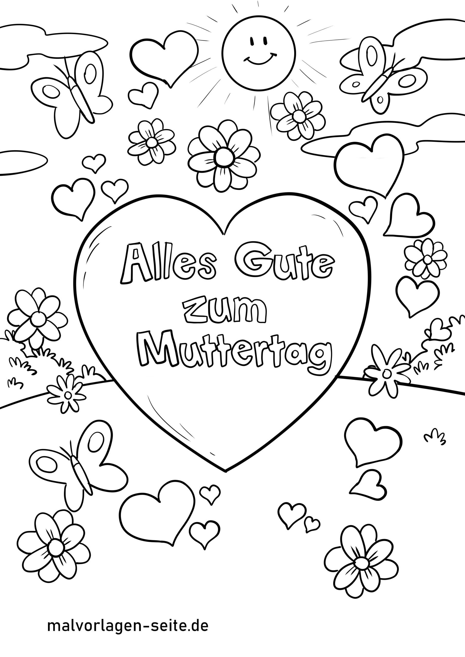 Coloring Page Mothers Day Free Coloring Pages