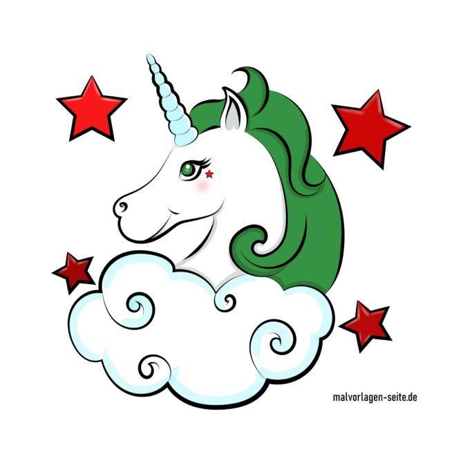 Unicorno colorato