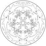 Leumadairean Mandala | A 'dathadh mandalas airson clann