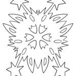Coloring picture stars - coloring page