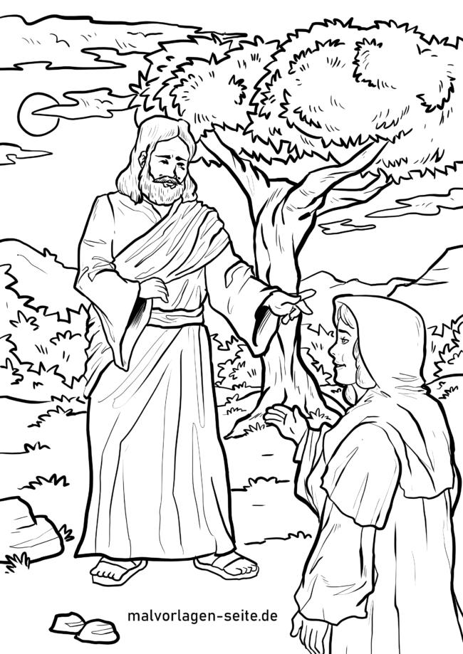 Coloriage Jésus de la résurrection