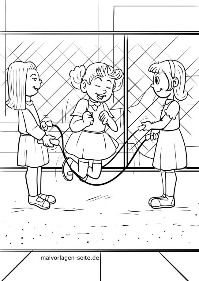 Coloring page rubber twist