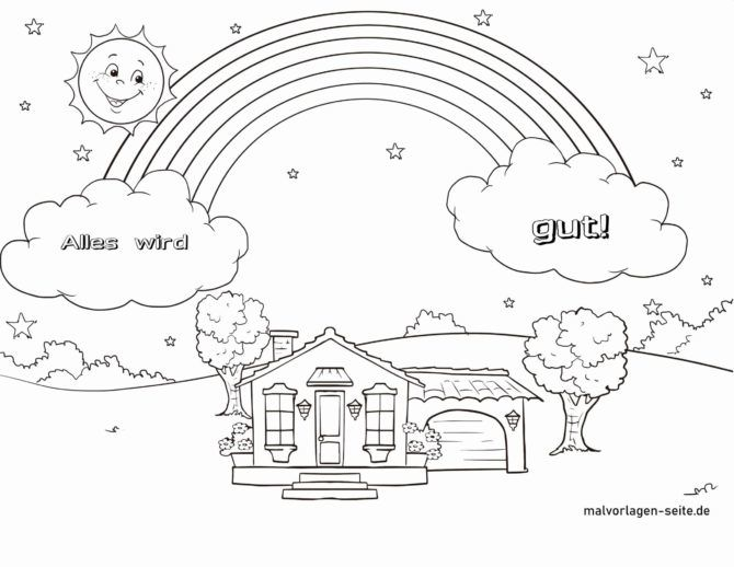 Coloring page Everything will be fine
