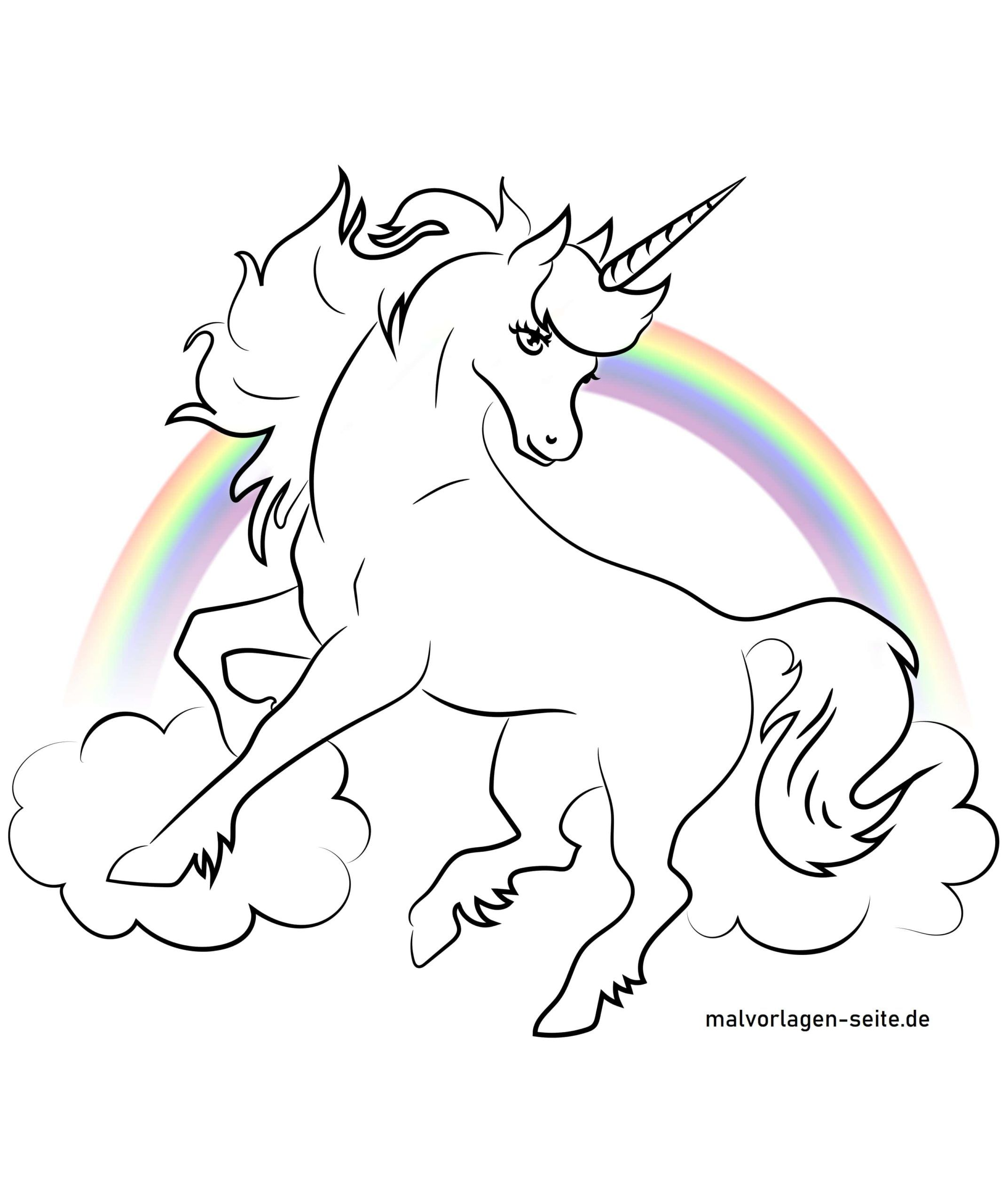 Free window picture template unicorn
