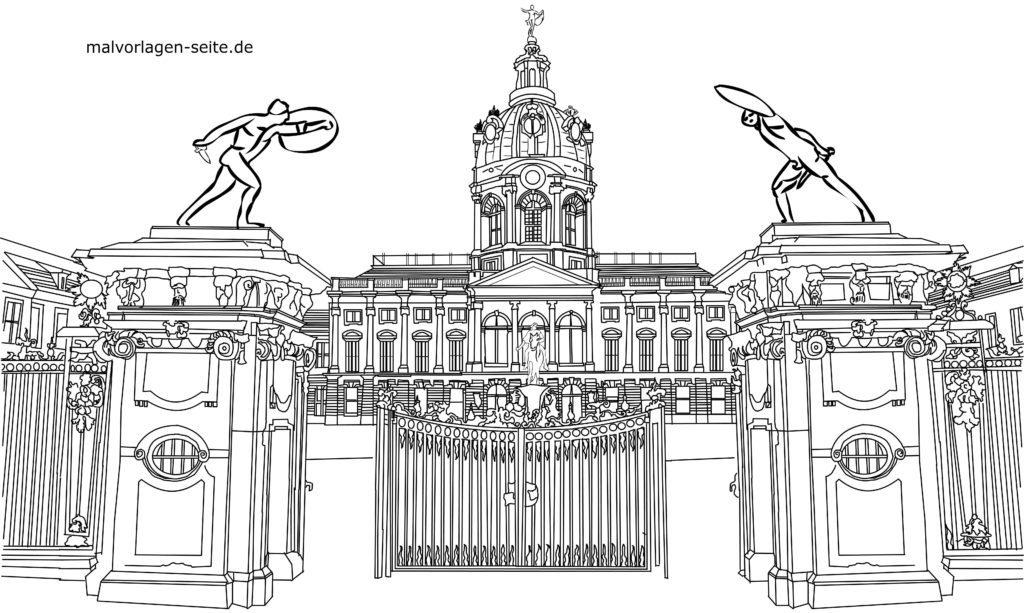 Shafin shafi masu launi Charlottenburg | Jan hankali yawon bude ido