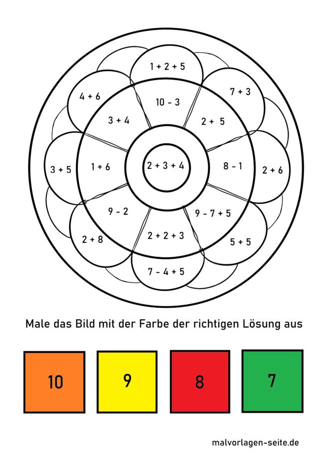 Computing mandala primary school