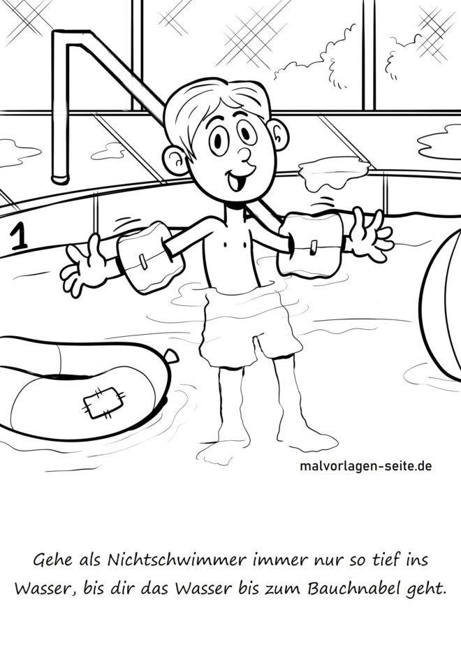 Pravidlo plavání Jako neplavec nevstupujte do hluboké vody