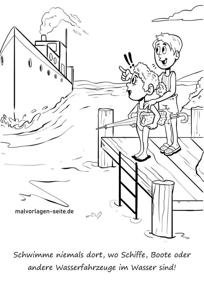 Ärge kunagi ujuge seal, kus laevad käivad
