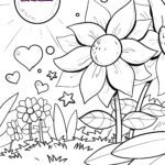 Coloring page saying thank you Emotions