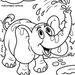 Malvorlage Elefant | Tiere