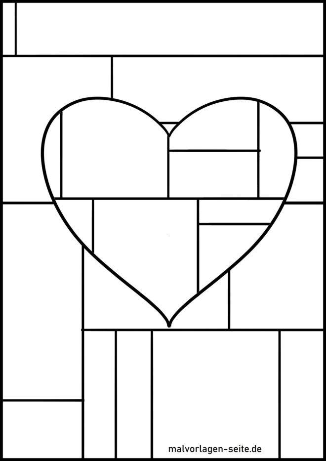 Оцветяване на страници геометрични фигури
