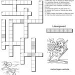 Children's crossword seasons