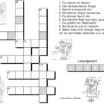 Children's crossword body
