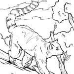 Coloring page lemurs | Monkeys