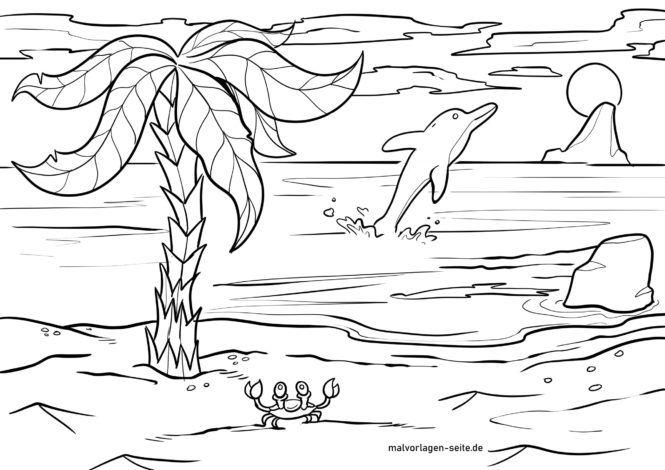 Sahifadagi palma daraxti