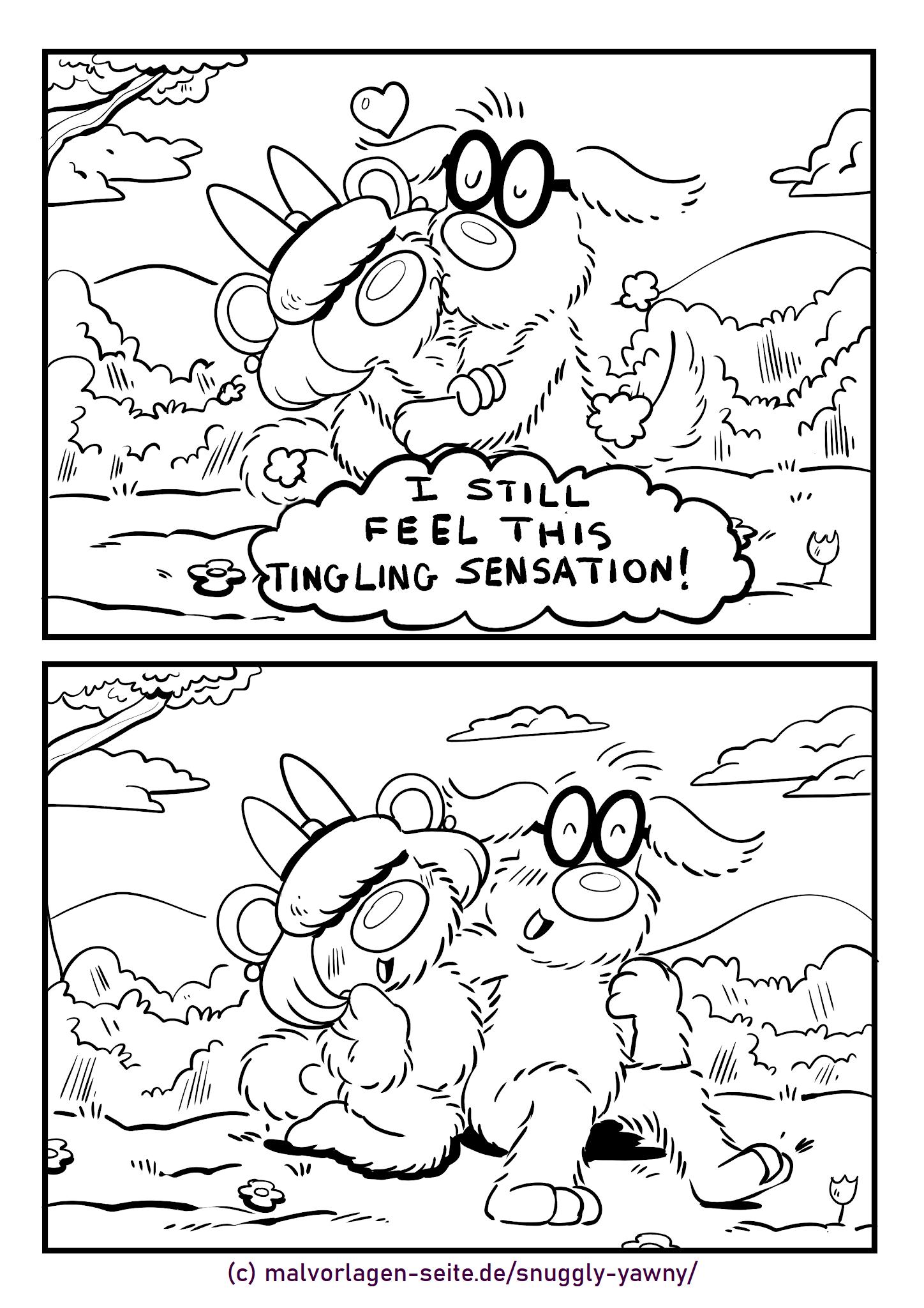Snuggly e Yawny - Ainda que formigamento