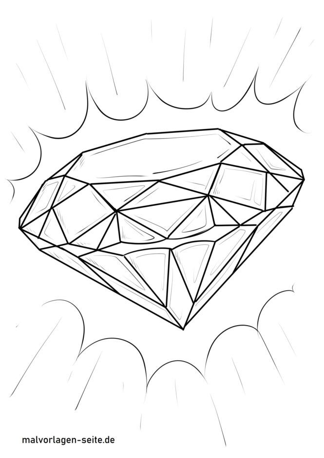 Coloriage diamant