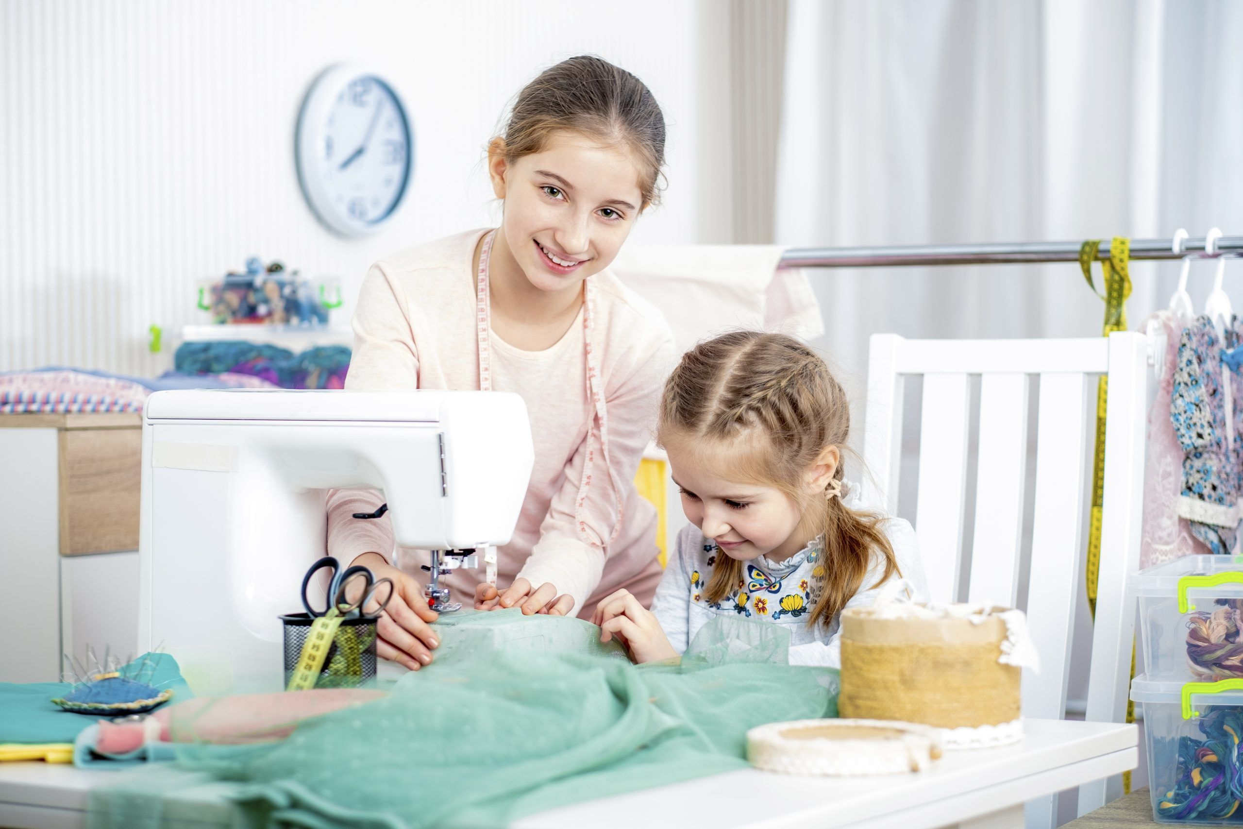 Nähen für Anfänger Nähen mit Kindern
