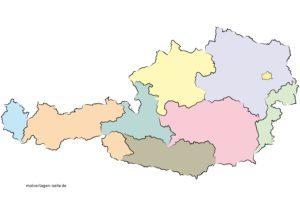 Austria kaardid kaart