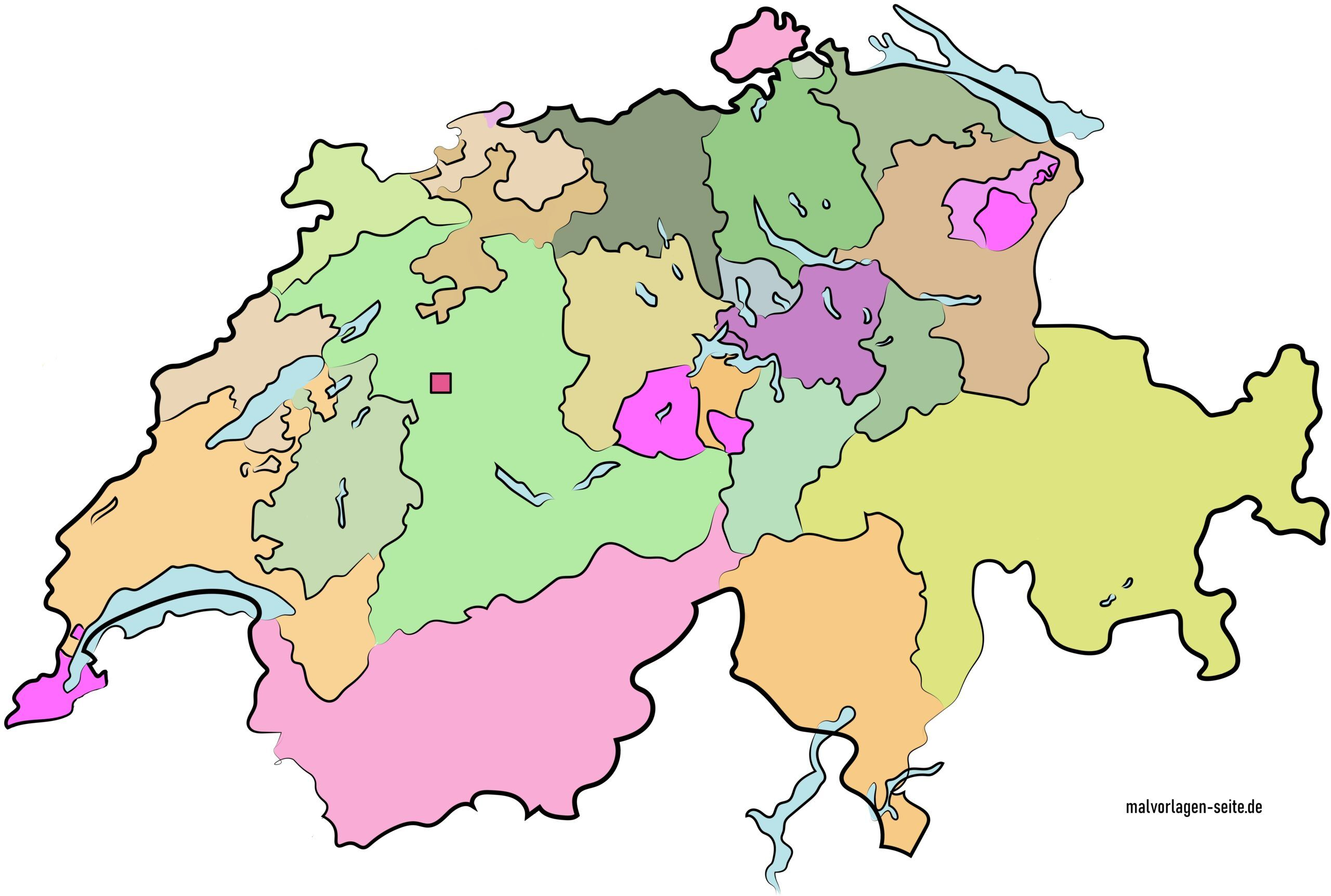 Cartina Politica Svizzera Cantoni.Una Panoramica Dei Cantoni Della Svizzera E Delle Loro Capitali