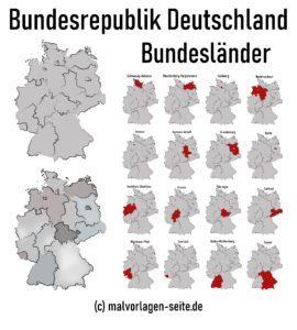 16 saveznih država Njemačke
