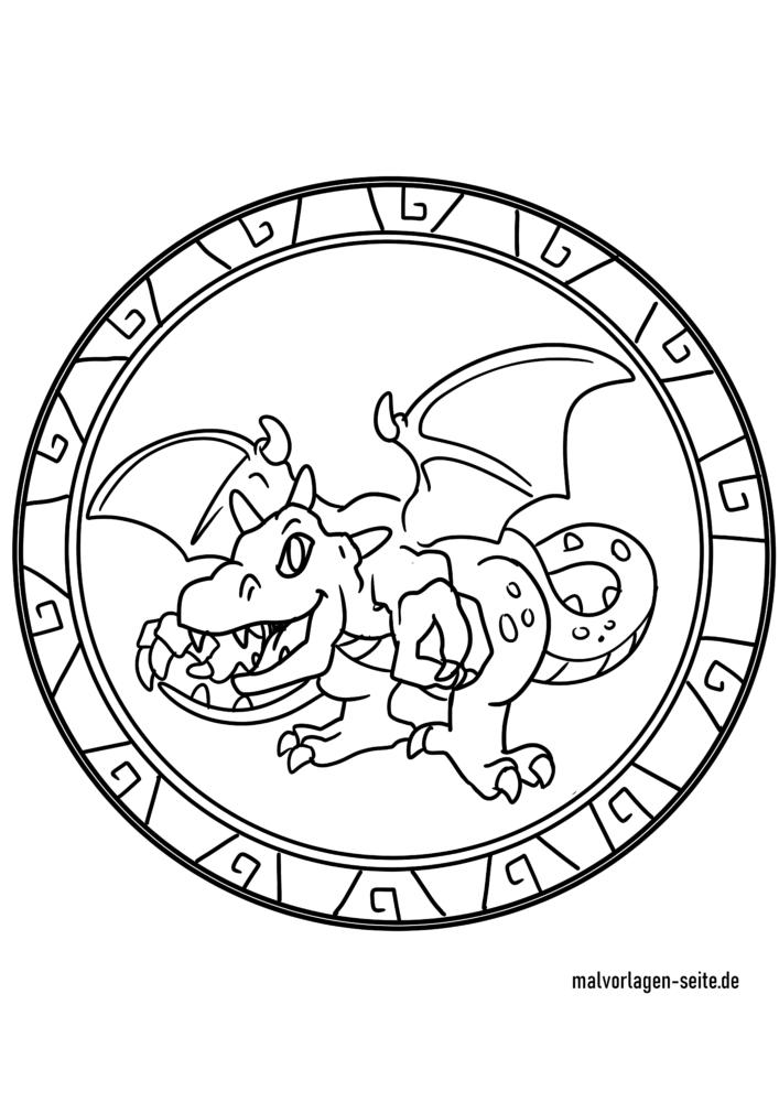 Drachenmandala