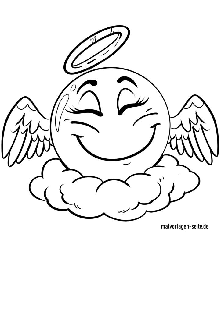 emojis zum ausmalen  kostenlos herunterladen und gestalten