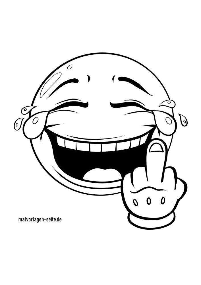 Μεσαίο δάχτυλο Emoji