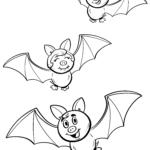 Malvorlage Fledermäuse