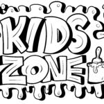 Graffiti skabelon Kids Zone
