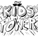 Graffiti skabelon Kids Power