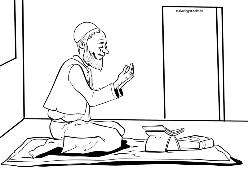 Malvorlage Islam Religion Kostenlose Ausmalbilder